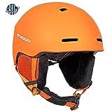 Ski Helmets Men (Matt Orange, M)