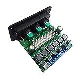 NXYJD 2 * 80w + 100w HiFi Car Power Subwoofer Placa amplificadora Estéreo 2.1 Canales Automotriz Clase D Tpa3116d2 Ecualizador Amp