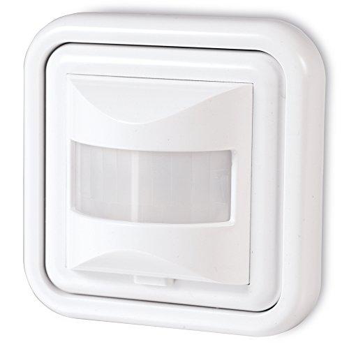 sonero IMS050 Infrarot-Bewegungsmelder – Innenmontage, weiß, Schutzklasse: IP20, 160° / 9m Arbeitsfeld