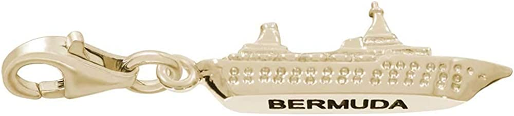Rembrandt Sale SALE% OFF Bermuda Cruise Ship Charm Yell Clasp 10K with OFFicial mail order Lobster