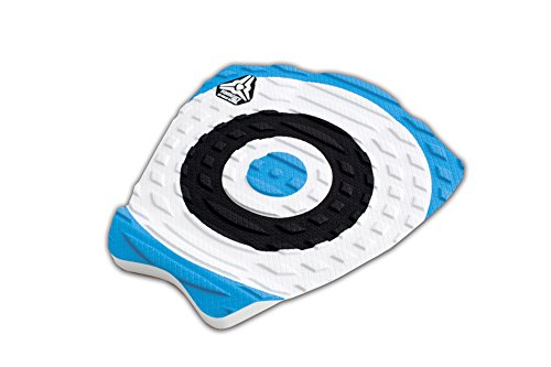 Komunity Project Kelly Slater Signature Model Surfboard Traction Pad - Blue, 360