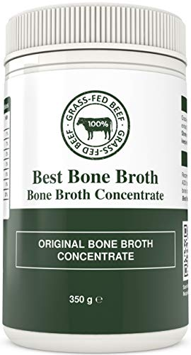 Bone Broth Premium Beef Bone Broth Concentrate - 100% Sourced from AU Grass-Fed, Pasture-Raised Cattle - Healthier Skin & Nails, Healthy Digestion - Bone Broth Collagen