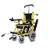 Fabio - Silla de ruedas con salvaescaleras, para personas mayores, para casas y escaleras ...