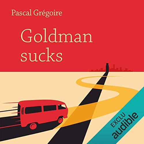 Goldman sucks audiobook cover art