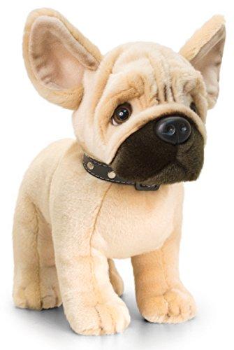 Lashuma Plüschtier Hund französische Bulldogge, Signature Puppies Kuscheltier, Kuscheltier stehend 30 cm