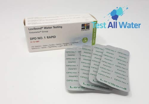 Lovibond DPD No 1 Rapid Dissolve Tablets. 100 Box