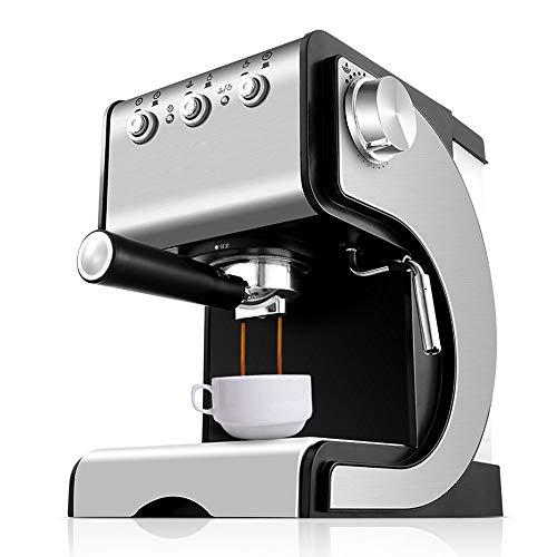 Gaone Macchina da caffè con Montalatte Macchina da caffè all-in-One all-in-One 20 Bar con Pompa E Montalatte Controllo Temperatura Rimovibile Serbatoio d\'Acqua da 1,3 Litri