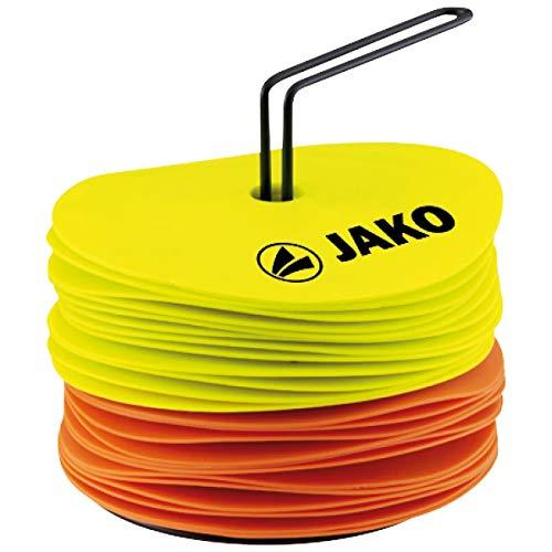 JAKO Equipment Markierungsscheiben, Neongelb/Neonorange, 0