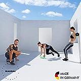 Blackroll  Standard (Härtegrad mittel), schwarz, Selbstmassagerolle + interaktives Booklet - 6