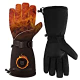 KINYONG Winter Electric Heated Gloves Battery Power Heating Gloves for Hunting,Motorcycle,Hiking,Skiing