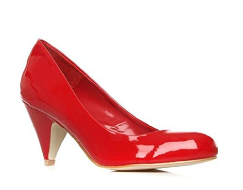 Kurt Geiger, Escarpins pour Femme Rouge Red Patent 3 UK / 36 EU