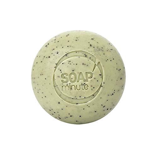 SOAP'minute SUISSE - SAVON PÉPINS DE RAISINS - Exfoliant intense et Revitalisant - Tous types de peaux