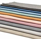 11x 0,25m Bündchen Basis-Set-Pastell