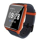 CAOQAO Smart Watch Android iOS Deportes Fitness Calorías Pulsera Wear Smart Watch Ocho Colores