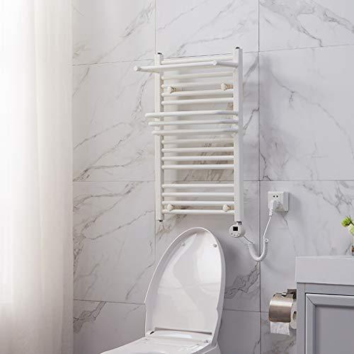 Termostático Toalla eléctrica Toallero Barra de baño Baño Radiador Rack de Secado...