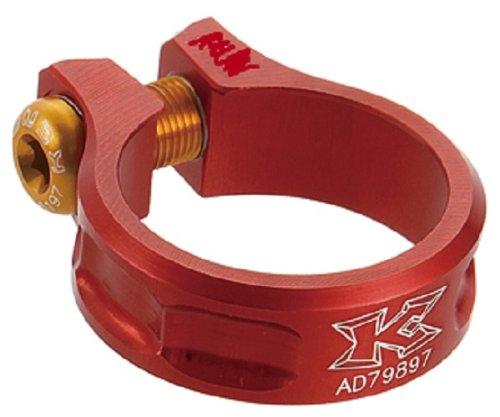 Abrazadera Tija Sillín KCNC SC-11 Rojo - Medidas: 38.2 mm