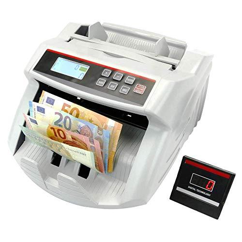 PrimeMatik - Contador de Billetes con Detector de Billetes F