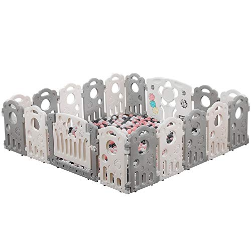 Fantastic Prices! Playpen AGYH Baby's Private Amusement Park Installation is Simple (8 Sizes to Choo...