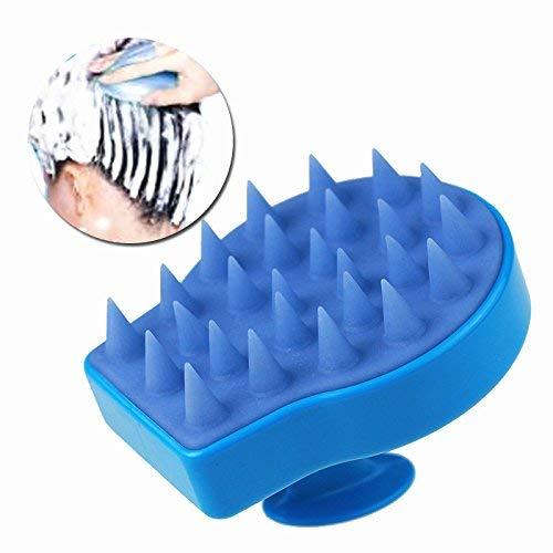 Spazzola/pettine per capelli, effetto massaggiante, colore blu