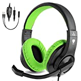BlueFire Auriculares Gaming con Microfono para PS4 PC Xbox one, Cascos Gaming con Bass Surround Cancelacion...