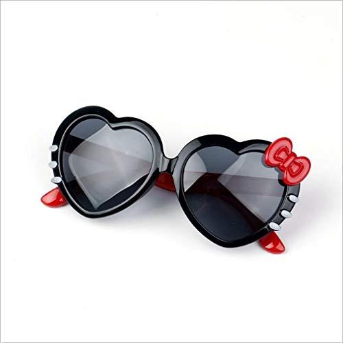 Happy Together Happy Together Kinder Sonnenbrillen weichen Rahmen Liebe Brillenmädchen polarisierten Sonnenbrillen Gezeiten Modelle weiblichen Babys Sonnenbrillen (Farbe : G)