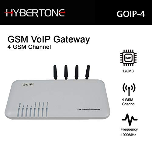 Quad Band GSM 4 Gateway 4 Channel GSM Voip Gateway Goip
