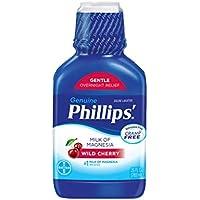 Phillips' Milk of Magnesia Liquid Laxative 26 Oz (Wild Cherry)