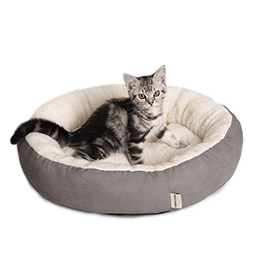 Tempcore Cat Bed for Indoor Cats, Machine Washable Cat Beds, 20 inch Pet Bed for Cats or Small...