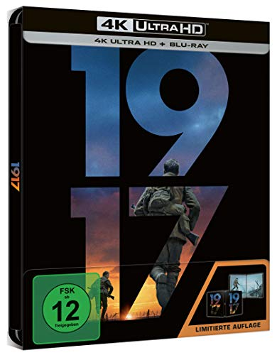 1917 - UHD - Steelbook [Blu-ray] (exklusiv bei Amazon.de)
