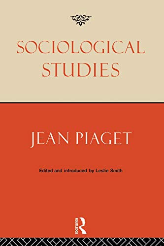 Sociological Studies -  Piaget, Jean, Paperback