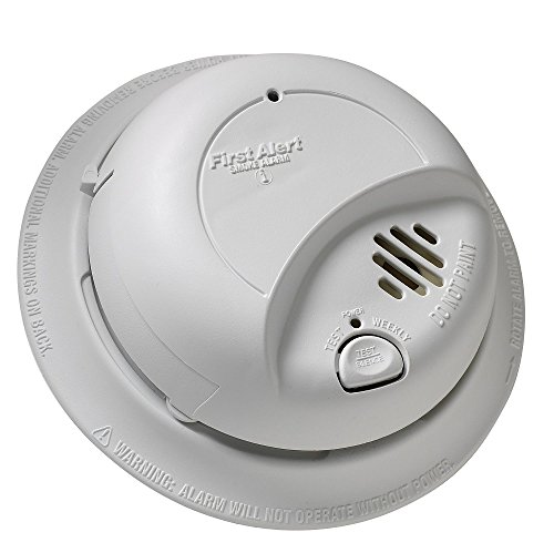 First Alert BRK 9120B Hardwired Smoke Alarm with Battery Backup (3)