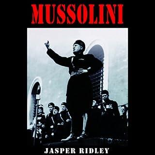 Mussolini audiobook cover art