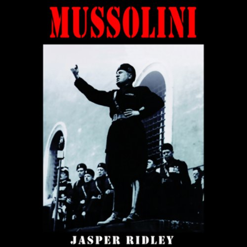 Mussolini audiobook cover art
