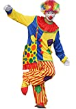 img_CHOOSEWAY ピエロ コスプレ 衣装 ハロウィン 仮装 LED 光るカツラ フルセット クリス