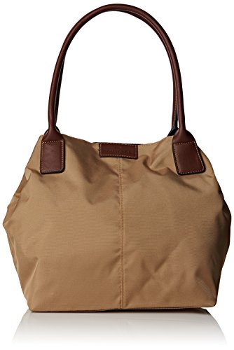Tom Tailor Acc Damen MIRI Shopper, Beige (beige 20), 44x28x18 cm