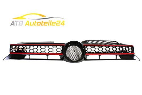Kühlergrill Blende Frontgrill Kühlergitter Golf VI 6 5K1 GTI Wabenoptik