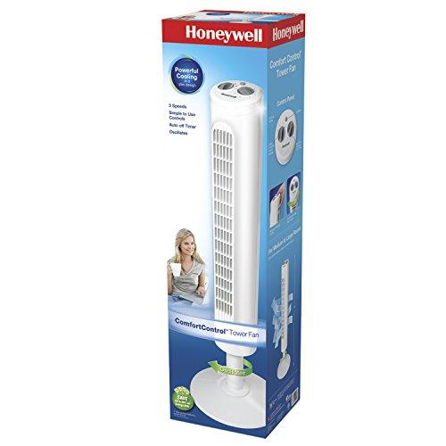 Honeywell Comfort Control Tower Fan, HYF013W