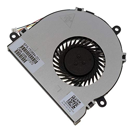 Ventilador de refrigeración de CPU compatible con Dell Inspiron 15R 17 17R 3537 5537 5535 3521 3721 5521 N5537 N3521 N5521 serie N5521