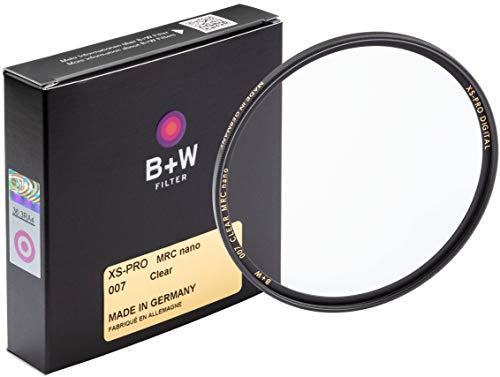 B+W Schutz-Filter, Clear Filter (82mm, MRC Nano, XS-Pro, 16x vergütet, slim, Premium)