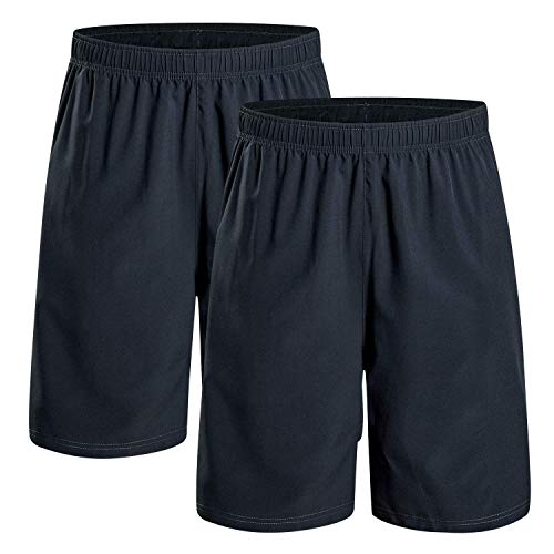CAMEL CROWN Men's Sports Shorts Running Shorts with Pockets Lightweight Fast-Drying Training Shorts for Outdoor Sport Fitness Workout Gym Summer Short