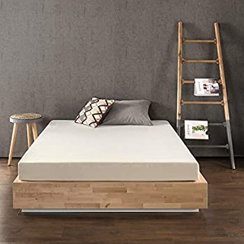 Best Price Mattress 6 Inch Memory Foam Mattress Calming Green Tea Infusion Pressure Relieving Bed-in-a-Box CertiPUR-US Certified Full