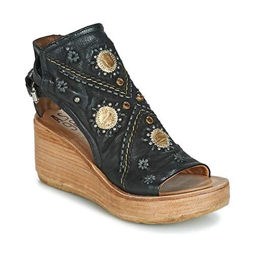 airstep / a.s.98 Noa Sandalen/Sandaletten Damen Schwarz - 37 - Sandalen/Sandaletten Shoes