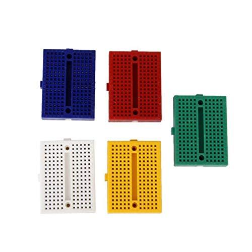 zhouweiwei SYB-170 Mini Lötmittel Prototyp Breadboard Protoboard PCB Universal Circuit Test Board DIY Tools Wiederverwendbares Bread Board