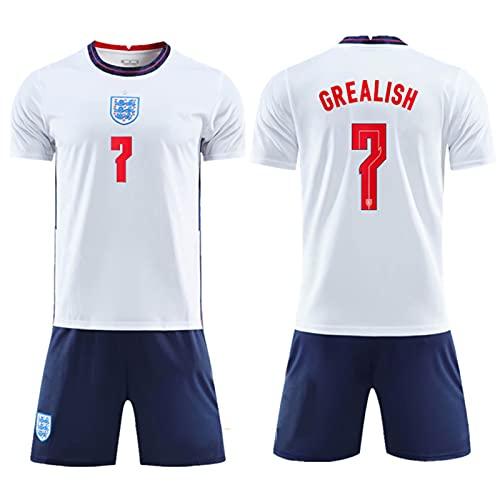 Backboards 2021 European Cup Jerseys,England Camiseta Primera Equipación,No.9 Hombre Camiseta de Manga...