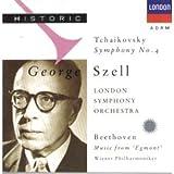 Tchaïkovski-Symphonie N 4-London Symphony Orch-Beethoven-Egm Ont:Mus Scene-Orch Ph Vienne-Szell