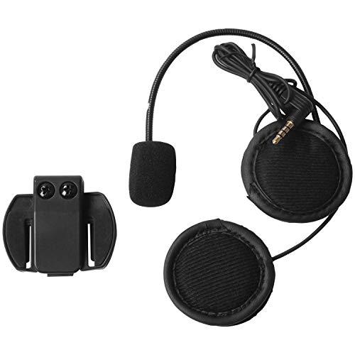 RETYLY 2 Stuecke 3,5 MM für V6 Pro Zubeh?R Kopfh?Rer Lautsprecher Mikrofon Clip für Vnetphone V4 / V6 Motorrad Helm Intercom