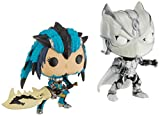 Funko 22788 Pop! Juegos de Vinilo: Marvel VS Capcom Black Panther VS Monster Hunter Exclusive...