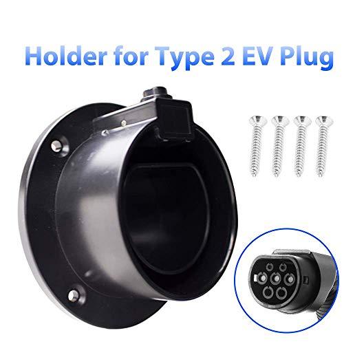 Morec EV Ladegerätehalter Typ 2 Dock für EVSE IEC62196-2 Stecker Elektrofahrzeug Ladegerät Stecker Halter Aufbewahrung Carton Packaging