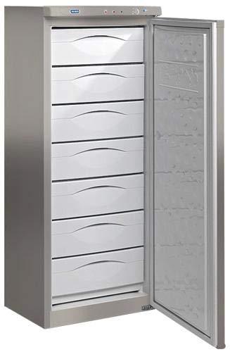 Congelador vertical Tensai CV220A+S INOX