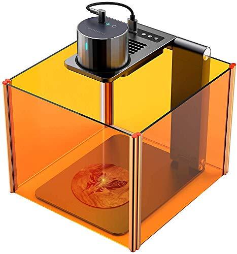LaserPecker Pro Laser Graviermaschine Tragbarer Lasergravierer Gravur Gerät Lasern mit Elektrische Standfuß Ständer Schutz Gravieren Holz Leder